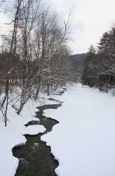clesson brook in winter