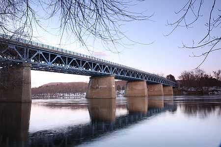 sunderland bridge from below