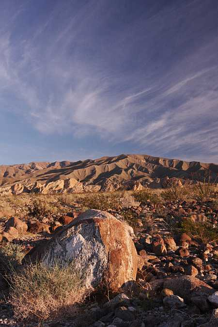 a-b boulder field