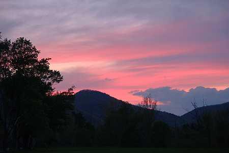 Todd sunset