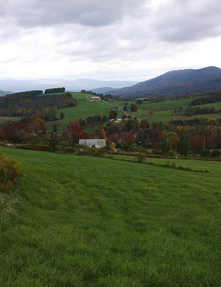 Cheshire farmscape