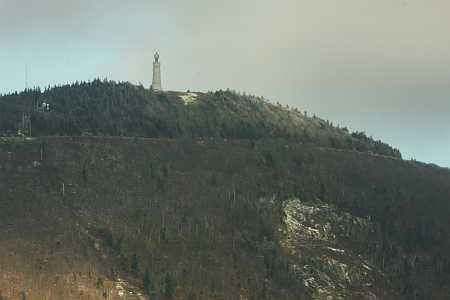 summit in first snow