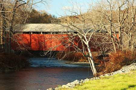 Colrain covered bridge
